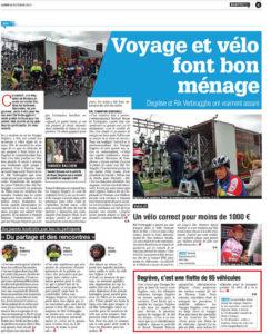 Voyages Degrève Article Vélos