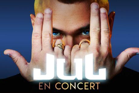 Concert de JUL avec les Voyages Degrève